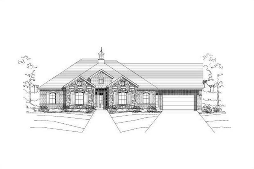 Main image for house plan # 19006