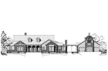 Main image for luxury house plan # 19210