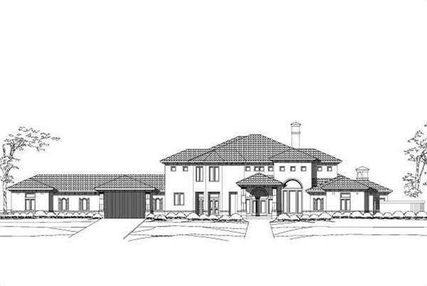 Main image for luxury house plan # 19226
