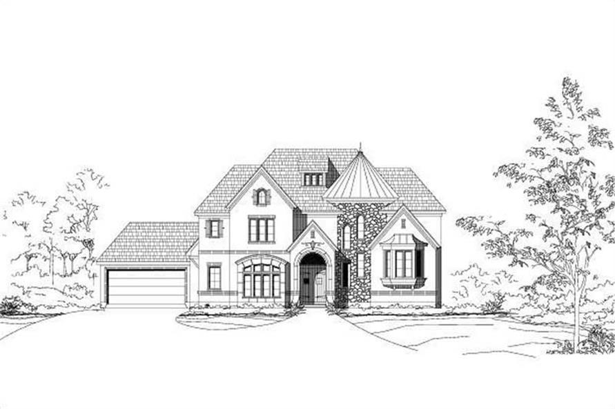 Main image for house plan # 19067
