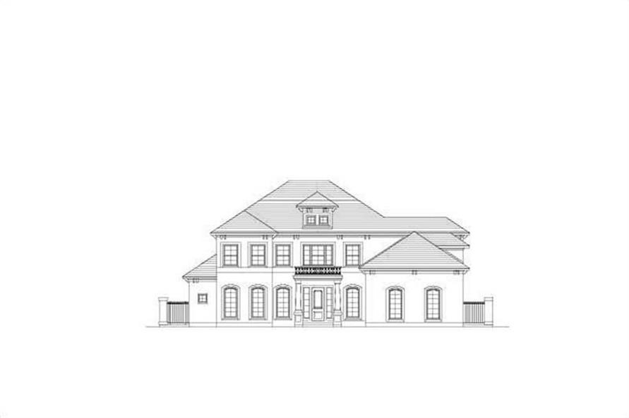 Main image for house plan # 19207