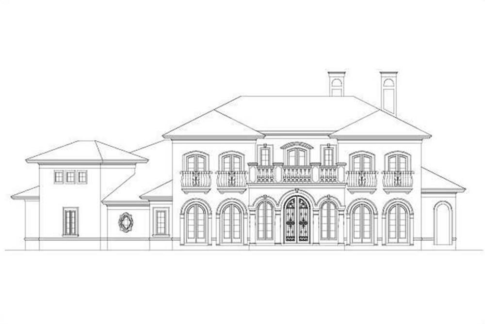 Main image for house plan # 18727