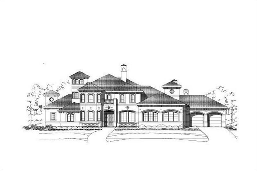 Main image for luxury house plan # 18728
