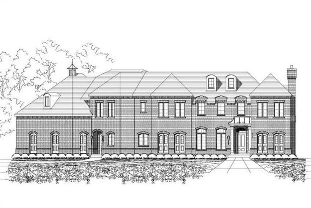 Main image for luxury house plan # 18733
