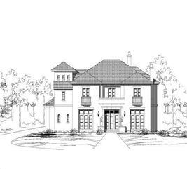 House Plan #156-1562