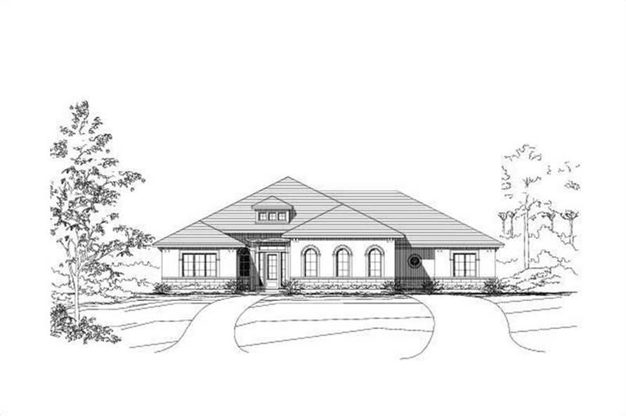 Main image for house plan # 18750