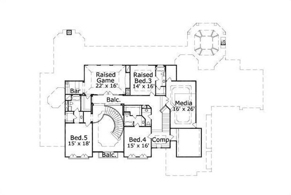 040080 PLAN HOME OF HOUSE PLAN