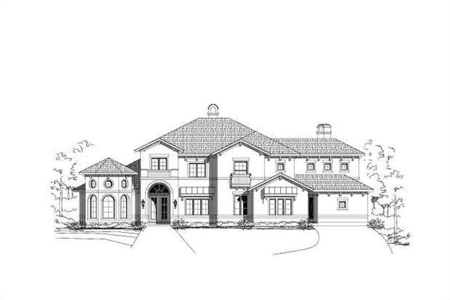 Main image for house plan # 18685