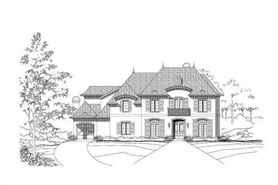 Main image for house plan # 18681
