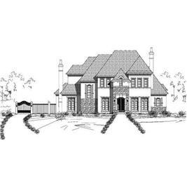 House Plan #156-1580