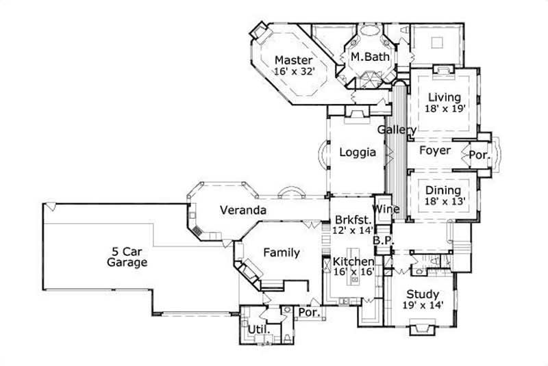 HOME PLAN OHP HOUSE PLAN