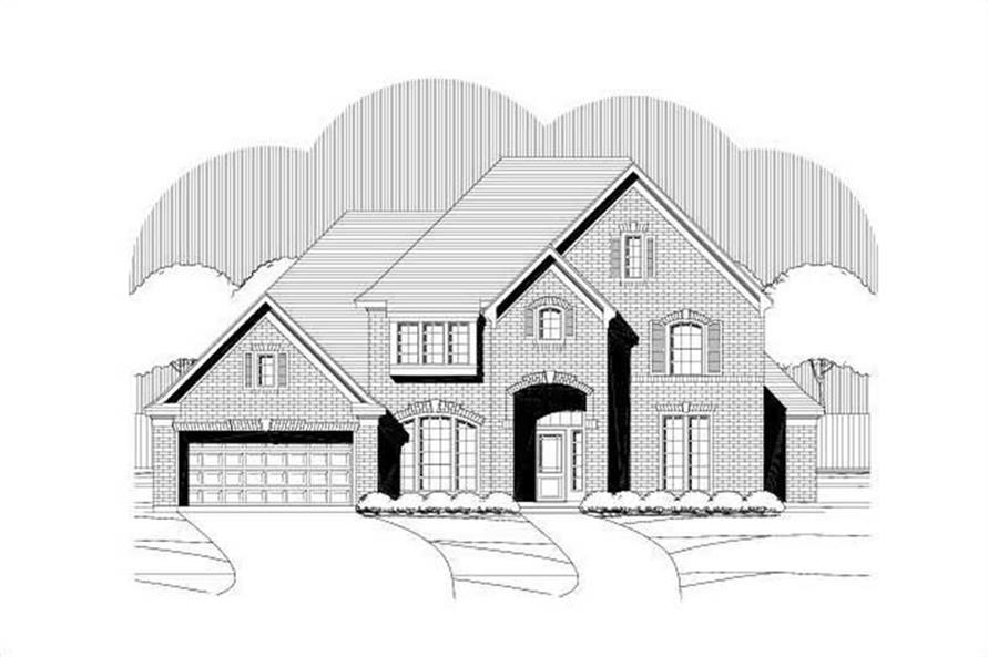 Main image for house plan # 19186