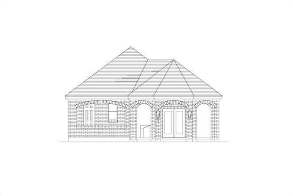 Garage w/Apartments home (ThePlanCollection: Plan #156-1608)