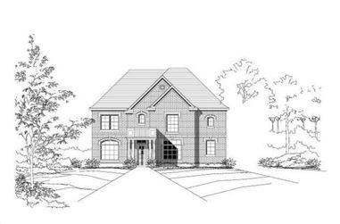 6-Bedroom, 3983 Sq Ft Craftsman Home Plan - 156-1619 - Main Exterior