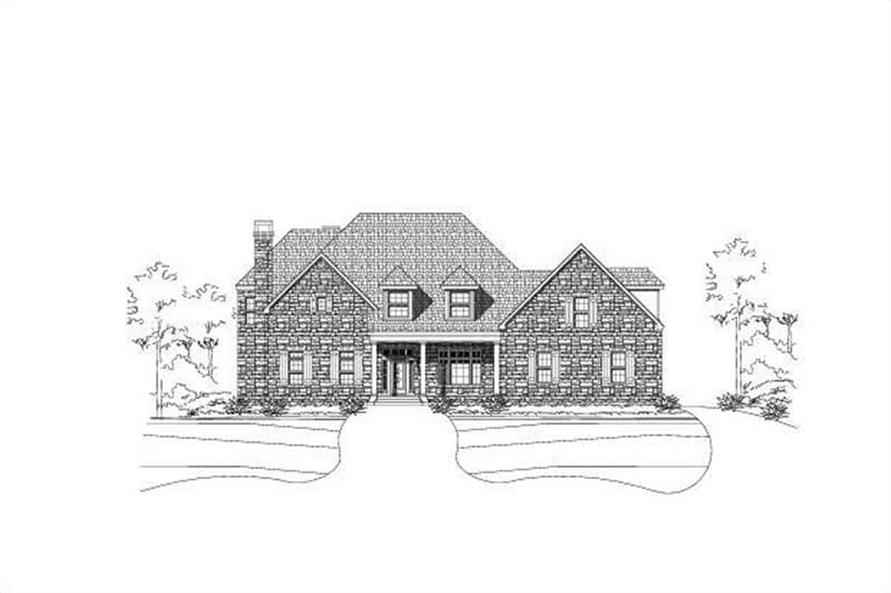 Main image for luxury house plan # 18732