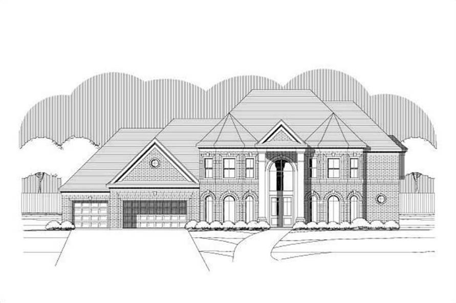 Main image for house plan # 19393