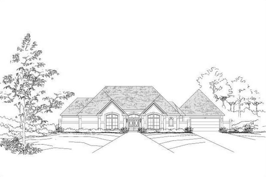 Main image for house plan # 19427