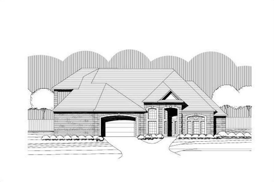 Main image for house plan # 19405