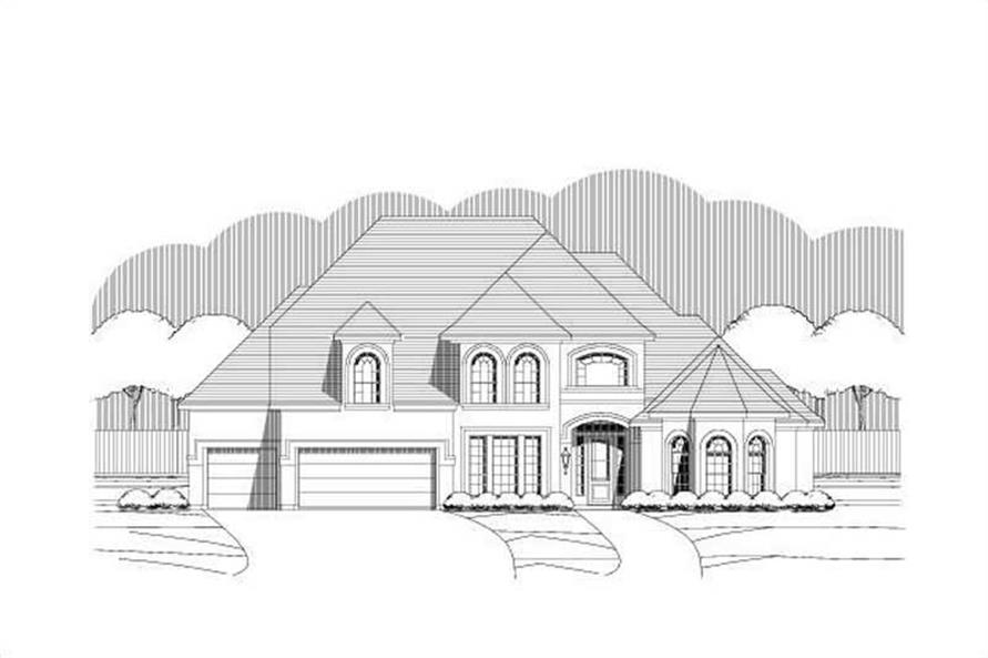 Main image for house plan # 19379