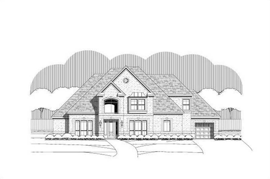 Main image for house plan # 19410
