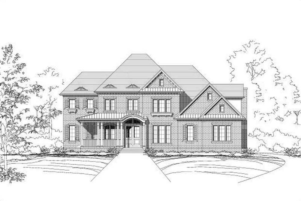 Main image for house plan # 19276