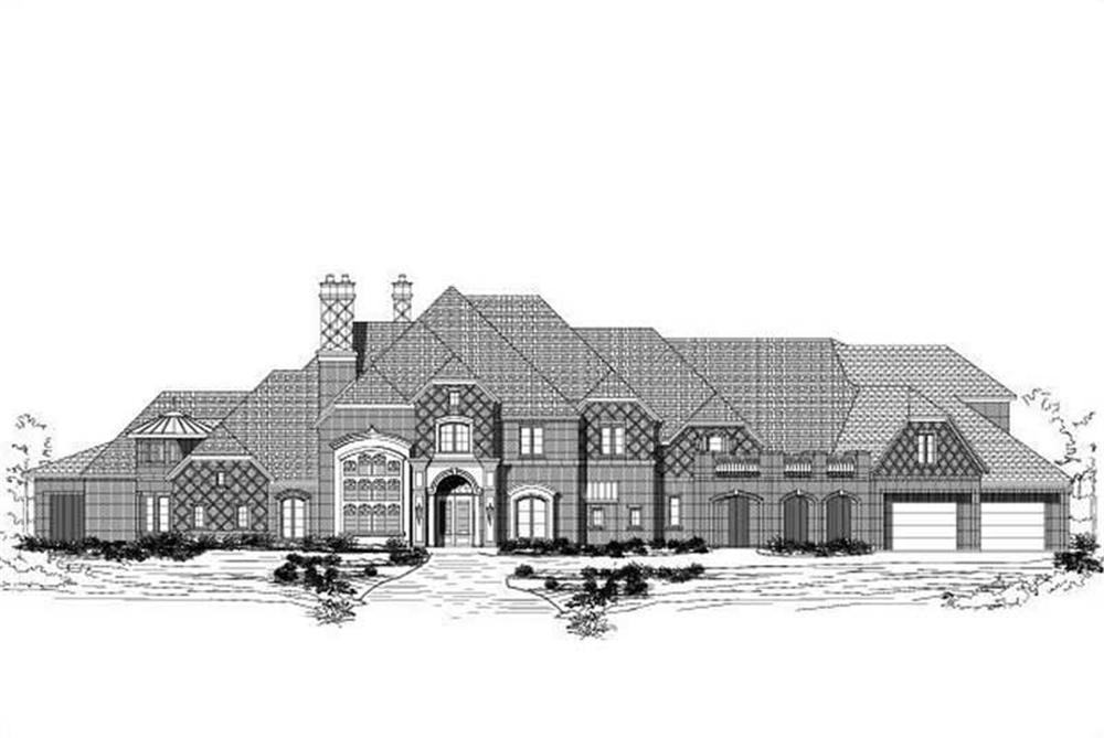 Main image for house plan # 19466