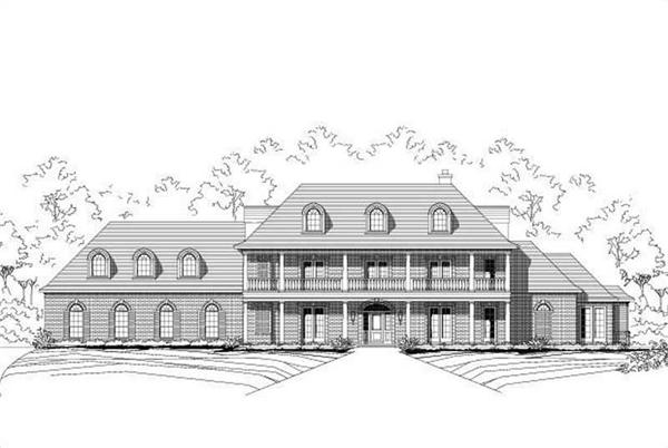 Main image for house plan # 19460