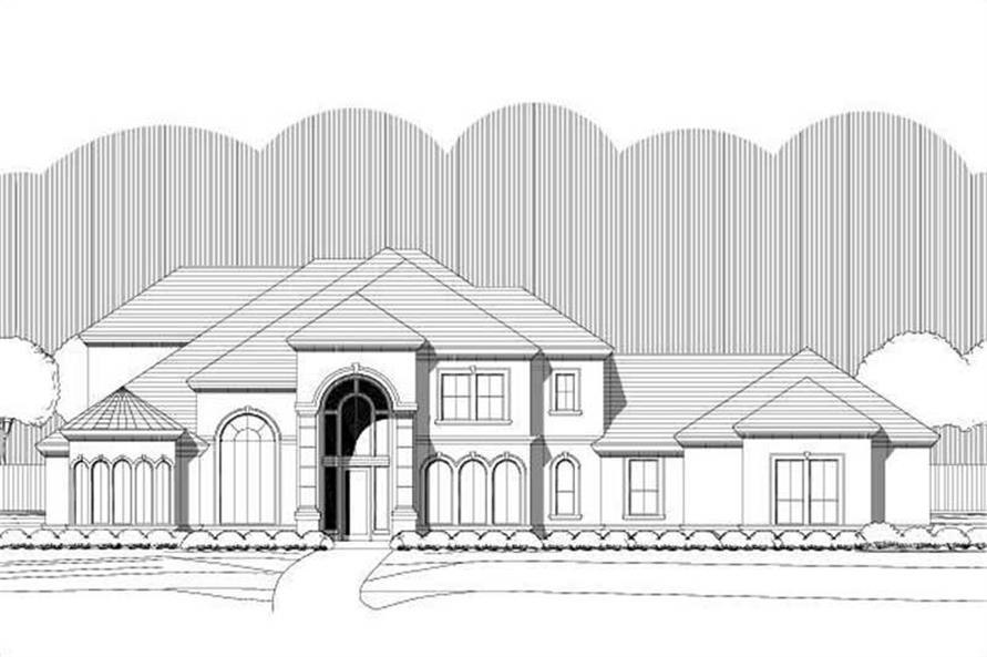 Main image for house plan # 19461