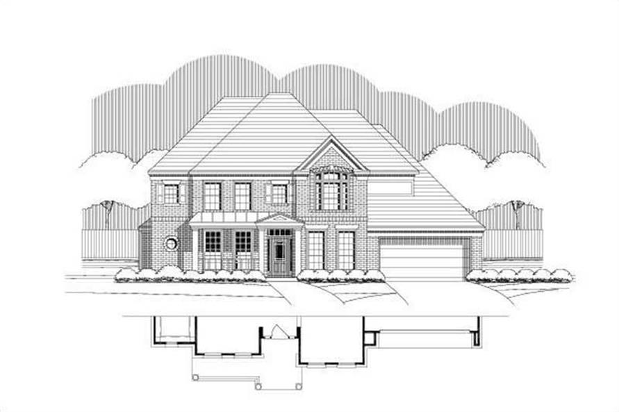 Main image for house plan # 19463