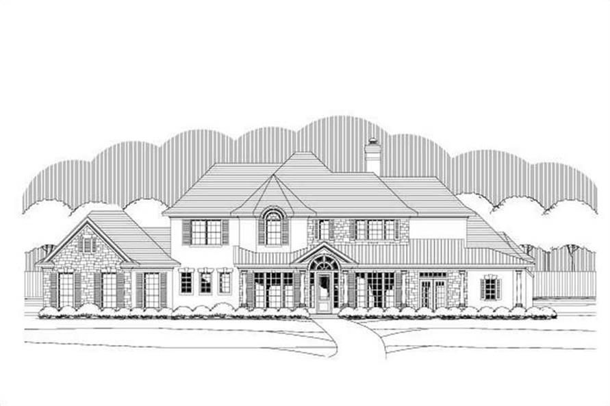 Main image for house plan # 19341