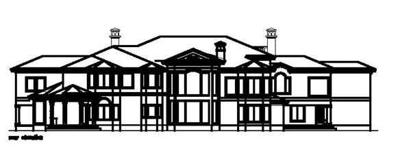 156-1686 house plan rear