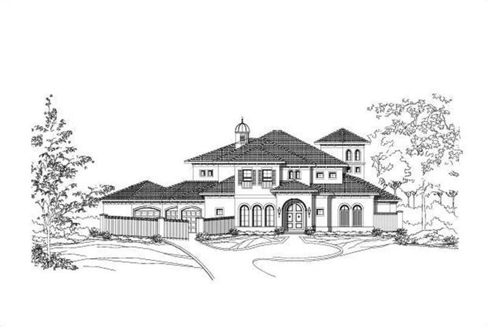 Main image for house plan # 19414