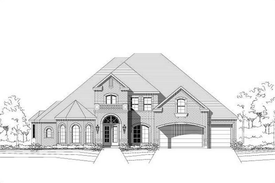 Main image for house plan # 19347