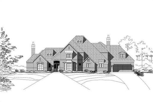 Main image for luxury house plan # 19244