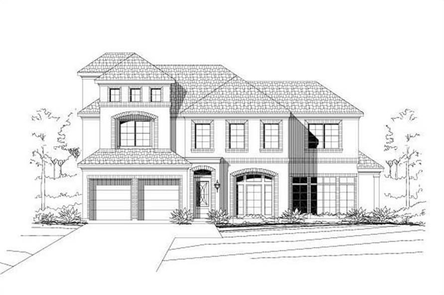Main image for house plan # 19195