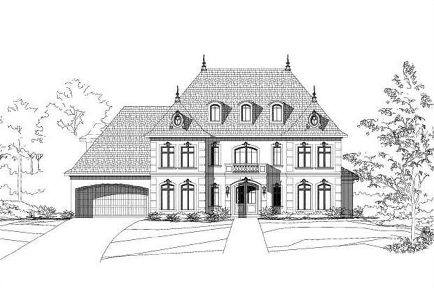 Main image for house plan # 19279