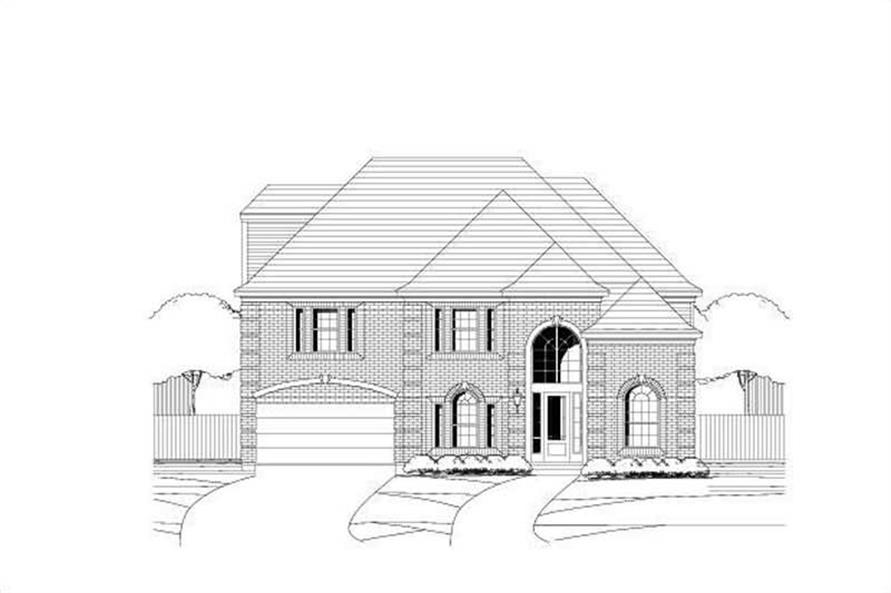 Main image for house plan # 19366