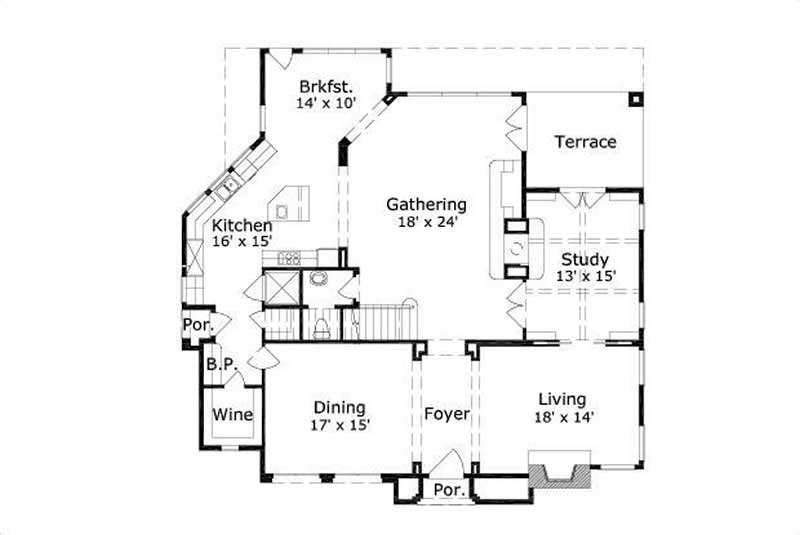 Contemporary French Home With 4 Bedrooms 5178 Sq Ft
