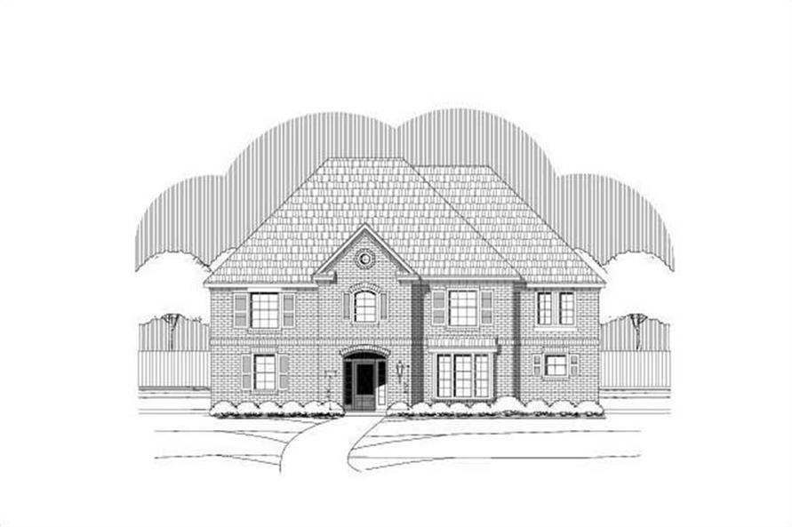 Main image for house plan # 19235