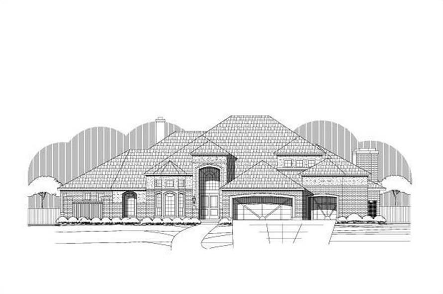 Main image for house plan # 19411