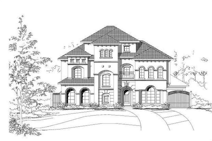 Main image for house plan # 19231