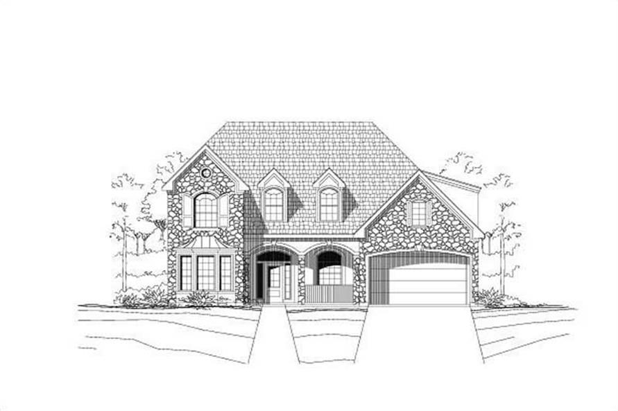 Main image for house plan # 19307