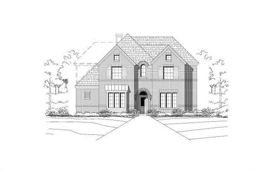 Main image for house plan # 19337