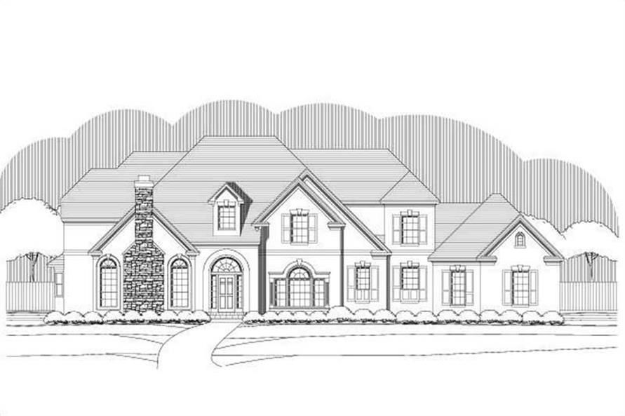 Main image for house plan # 19340