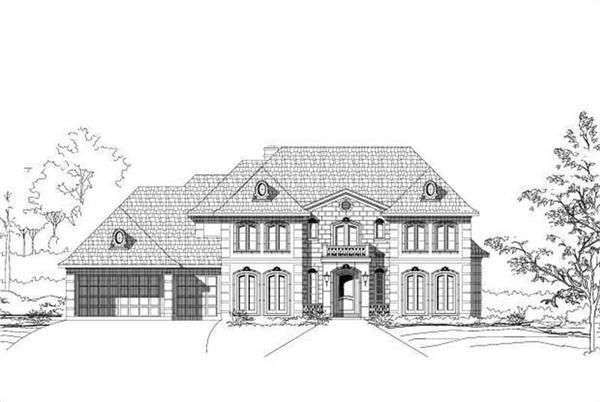 Main image for house plan # 19344