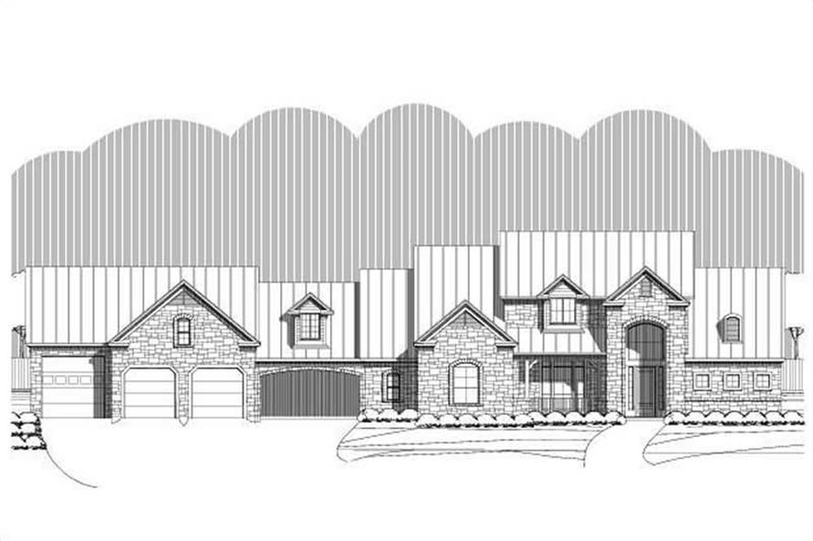 Main image for house plan # 19369