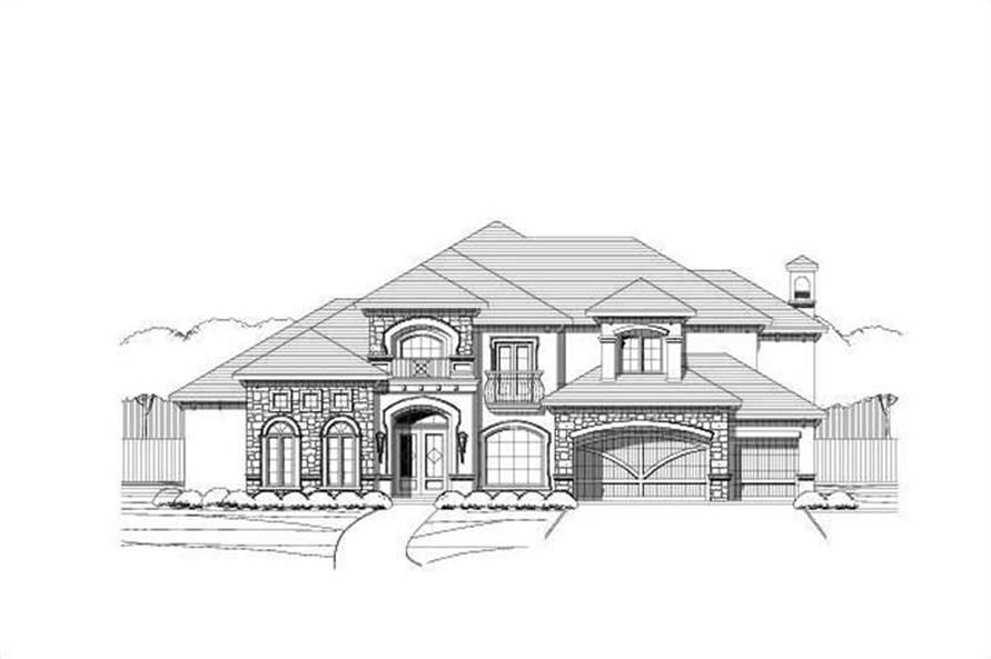 Main image for house plan # 19327