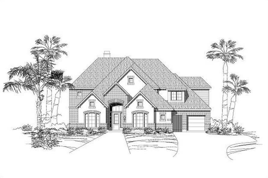 Main image for house plan # 19319
