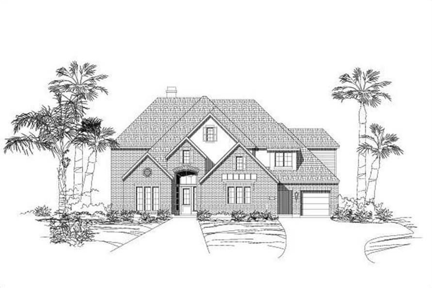 Main image for house plan # 19323