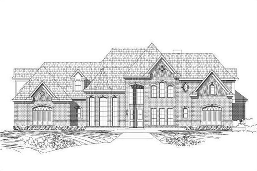 Main image for house plan # 19333